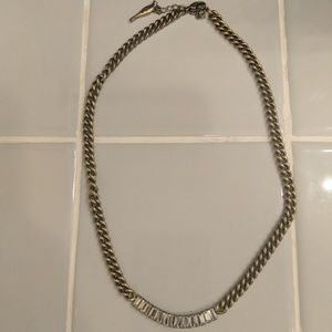 Chloe and Isabel baguette crystal necklace
